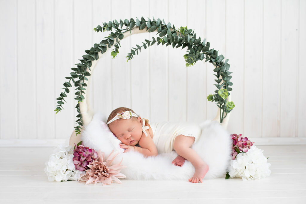 Baby Neugeborenen Shooting