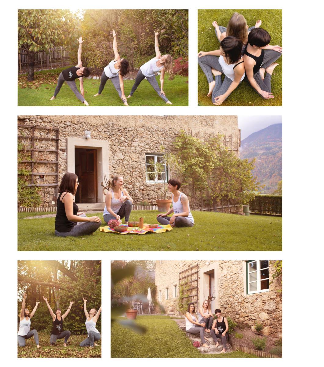 Unternehmensfotografie für Dein Yogading